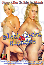 black cocks in blondes