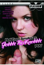 hot teen amateurs gobble the knobble