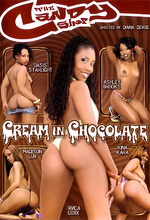 cream in chocolate